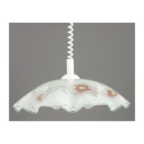 Trekpendel hanglamp LYRA GLASS