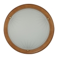 Wand- en plafondlamp 2xE27/60W/230V